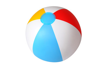 Zelfklevend Fotobehang Bol Isolated beach ball
