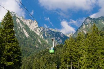 Romania - Bucegi mountains, part of the Carpathians