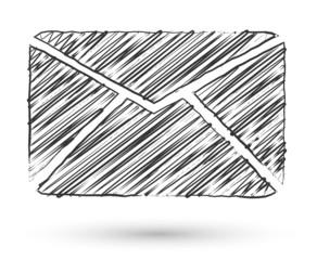 Vector sketch style icon