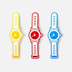 realistic design element: watch