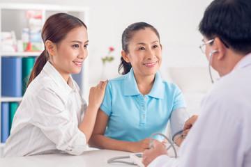 Visiting doctor together