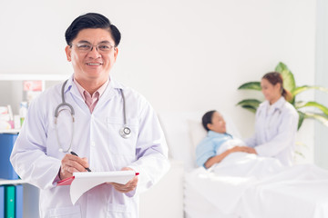 Doctor at hospital