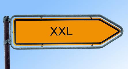 Strassenschild 6 - XXL