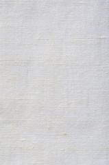 Natural Bright White Flax Fiber Linen Texture, Vertical Macro