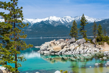 Wall Mural - Sand Harbor, Lake Tahoe