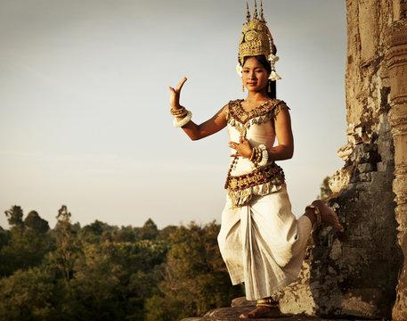 Aspara Dancers at Angkor Wat