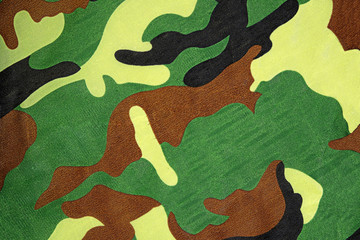 Camouflage pattern background or texture
