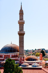 Sultan Suleiman the Magnificent Mosque in Rhodes