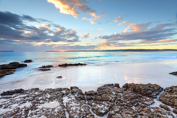 Fotorolgordijn Australië Dawn colours at Jervis Bay NSW Australia