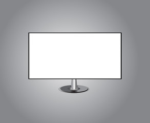 TV Screen hd Isolated  Background