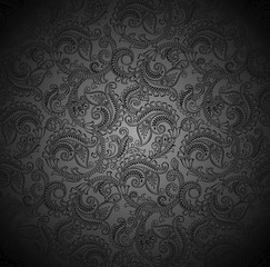 Luxurious seamless paisley wallpaper