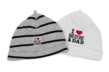 Two children's hats