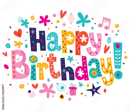 Quot Happy Birthday Quot Stock Image And Royalty Free Vector Files