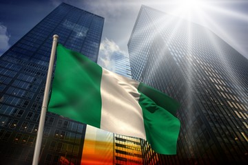 Composite image of nigeria national flag