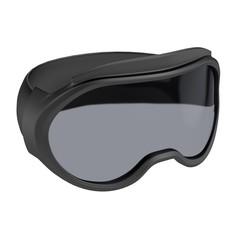 realistic 3d render of ski glasses