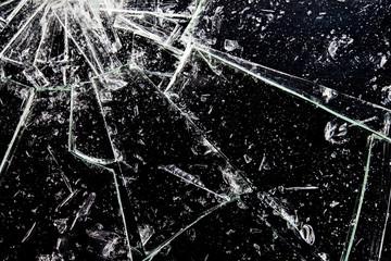 Obraz 割れたガラス - fototapety do salonu