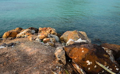 Rocky Thai Island Beach Koh Lan