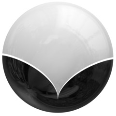 Abstract globe sphere