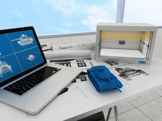 3d printing technology, printing tank