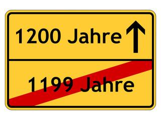 1200 Jahre