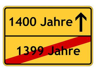 1400 Jahre