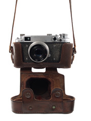 The hanging camera