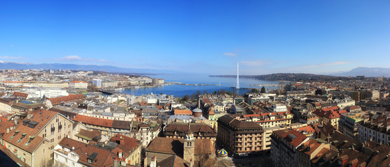 Panorama of Geneva