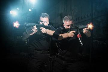 special tactics team in action