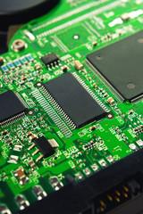 Computer Hard Disk Electronics Circuit