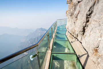 Poster de jardin Chine Tianmenshan Tianmen Mountain China