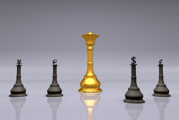 The Currency Chess Game