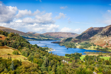 Ullswater from Above Patterdale Wall mural