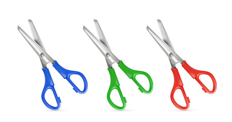 Set of scissors