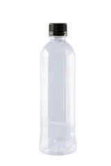 Blank drinking water plastic bottle