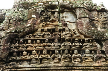 Ruin of Angkor Temple