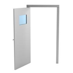 realistic 3d render of kitchen door