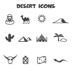 desert icons