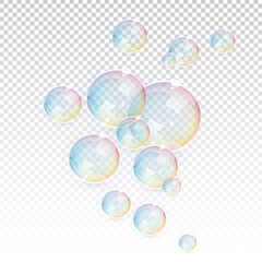 Transparent Vector Bubbles