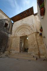 Ragusa Ibla Portale San Giorgio