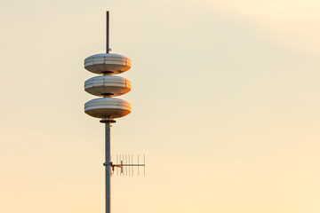 Mobile telephone broadcast tower in The Netherlands