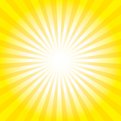 Sunburst Pattern. Radial background.