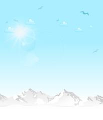 Skyline Berge