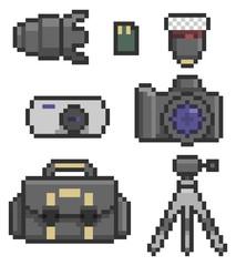 photographic icon set