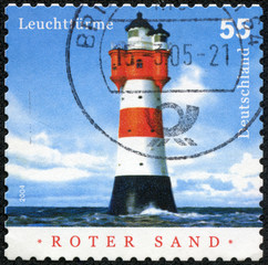 Roter Sand, Lighthouse in the Middle of the North Sea