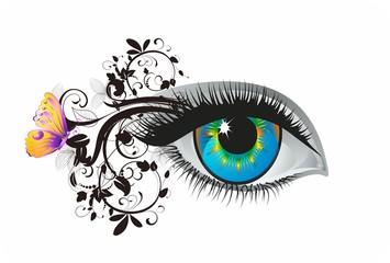 oko i rzęsy