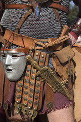 Details of a Centurion of the ancient Rome