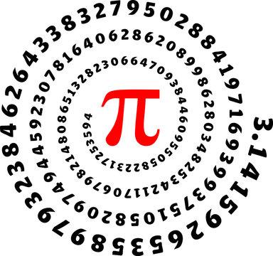 Pi, 3,14, Pi Day, Zahl, Spirale, Mathe, Mathematik, Symbol