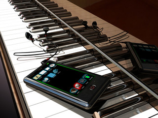 Mp4 and piano