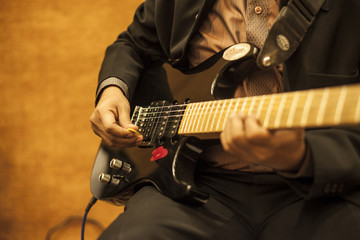 Guitar - the musical instrument