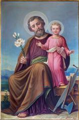 Obraz Obraz św. Józefa - fototapety do salonu